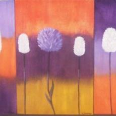 Art: REMINISCING - FLOWERS by Artist Christa Jule Art
