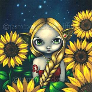 Art: Leo by Artist Jasmine Ann Becket-Griffith