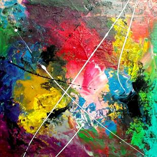 Art: Abstract 81 by Artist Thomas C. Fedro