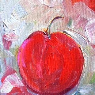 Art: Just a Cherry by Artist Deborah Sprague