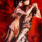 Art: Tango! - SOLD by Artist Diane Millsap